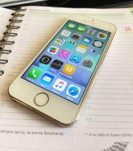 Iphone 5s - dorado 16gb
