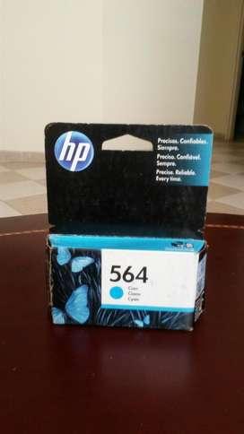 Cartucho Impresora 564 Cyan