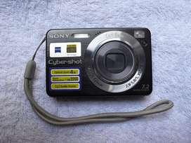 Camara Digital Compacta Sony Cyber-shot 7.2mpx Dsc W120