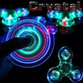 Luces led crystal transparente con 4 programas Gruponatic San Miguel