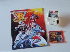 album vr troopers panini 1995 completo a pegar