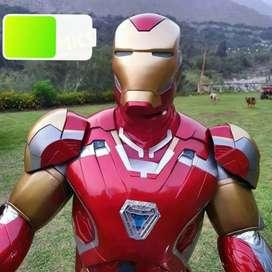 Iron Man Cosplays en Fibra de Vidrio