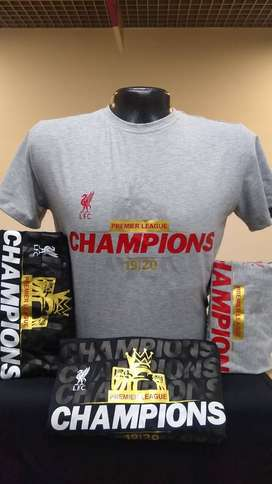 Camisetas Liverpool Champions
