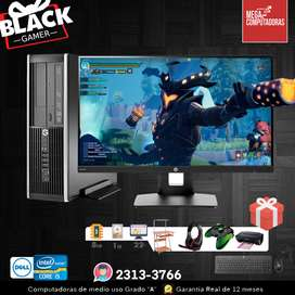 OFERTAS BLACK GAMER Intel Core i5 (EL REGALO PERFECTO) INCLUYE TODO  MEGACOMPUTADORAS