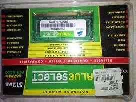 Memoria Ram 512mb Ddr2 667mhz Corsair segunda mano  Perú