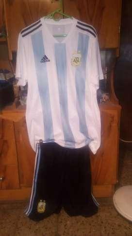 Camiseta y pantoloncito de argentina. Xxl