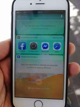IPhone 6 de 16gb estado interno 10/10 y físico 8/10