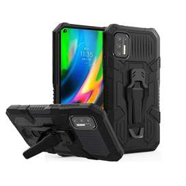 Estuche Protector Antichoque Armor Bracket Motorola Moto G9 Plus