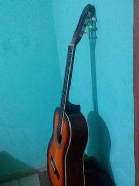 guitarra y cajon ocasion