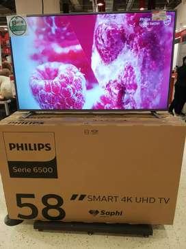 TV Led 58p  4k smartv philips nuevo