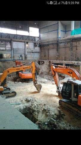 Alquiler de Excavadoras con Martillo