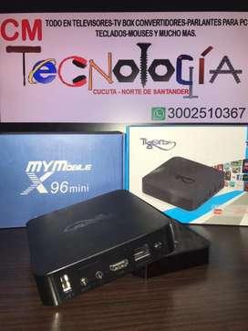 Tv box convertidor a smart tv android