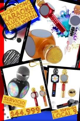 Micrófono Karaoke Bluetooth
