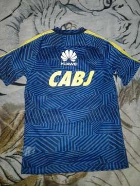 Camiseta entrenamiento pre match Boca 2017