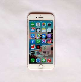 iPhone 7 de 32gb Gold Rose Leer