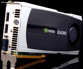 Tarjeta de Video Profesional Nvidia Quadro 6000. DDR5 6GB Vendo Cambio