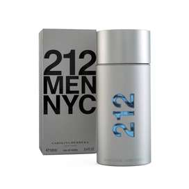 Perfume 212 NYC Men Carolina Herrera 100ML 3.4 OZ