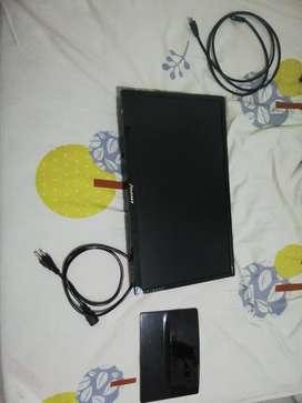 Monitor Janus 21 pulgadas Full HD + Cable HDMI