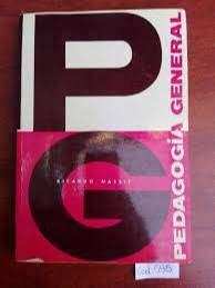 Libro Pedagogia General- Ricardo Nassif- Perfecto