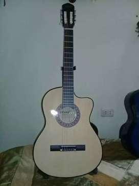 Guitarras Acustica importada con Alma