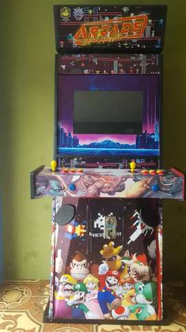 Máquina multijuego arcade