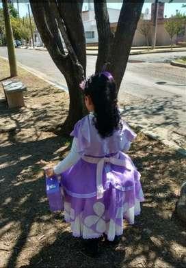 Vestido princesa Sofia y accesorios