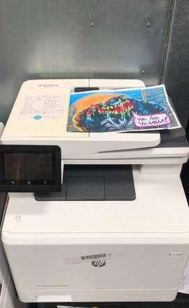 fotocopiadora / multifuncional / color / laser