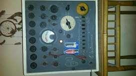 Antiguo Probador De Valvulas Marca Electroservis Funciona