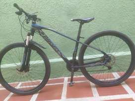 Bicicleta Boston profit aluminio rin 29 talla L con tarjeta de propiedad