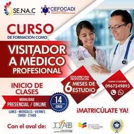CURSO VISITADOR A MEDICO PROFESIONAL