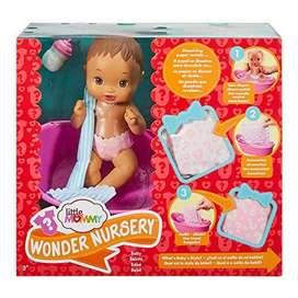 Little Mommy Wonder Nursery Doll, Light Brown Hair