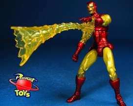 "Marvel Universe Serie 1 #021 Iron Man Suelto 3.75"""