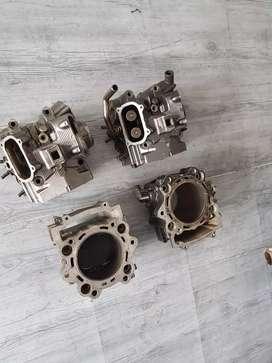 Yamaha xt660, cilindros culatas