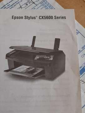 Se vende, como nueva, impresora Epson Stylus CX5600 Series.