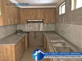 Departamento en venta Sector Las pencas de 3 dormitorios