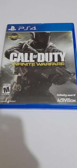 Vendo Call Of Duty Infinity Warfare Ps4