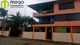 Vendo Casa Rentera en La Via Chone