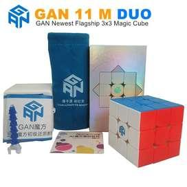 Gan 11 M Duo Cubo Rubik 3x3 Gan Cube Original Stickerless