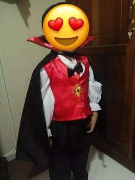 Disfraz Drácula talla 6