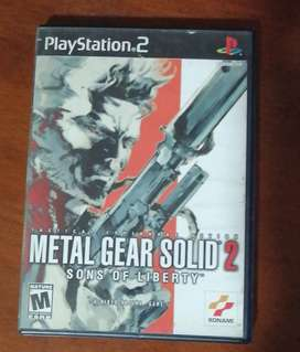 Metal Gear Solid 2 Play Station 2