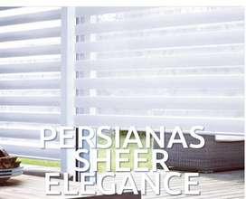 A ESTRENAR Persianas Sheer Elegance manual o Motorizada