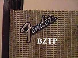 1968 Fender Metal Logo Silverface Amp Vintage Original