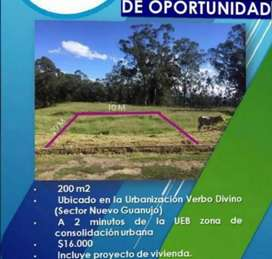 Terreno en Guaranda