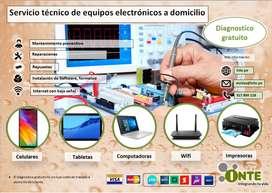 Reparacion y mantenimiento Laptops, impresoras y tablets