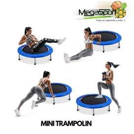 Minitrampolín/Cama Elástica Pequeña para Fitness, Gimasia, Jumping, Recreación, Coordinación y Rehabilitación