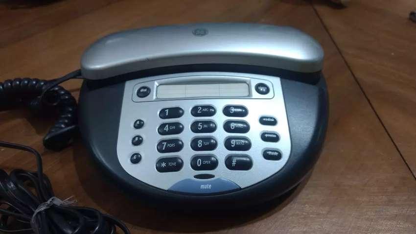 Teléfono General Electric. Simple, solido, duradero