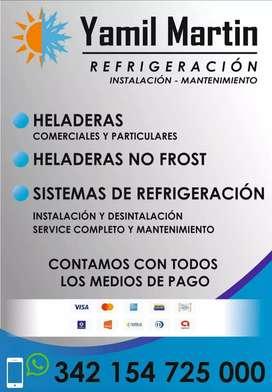 Técnico en refrigeración .Yamil Martin