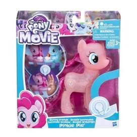 Pinkie Pie Pony Luces Brillantes rarity rizos estilados