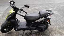 Moto agility 125 color verde negro único dueño valor 5000000