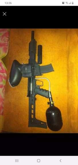 Rifle de pinball tipo rifle táctico